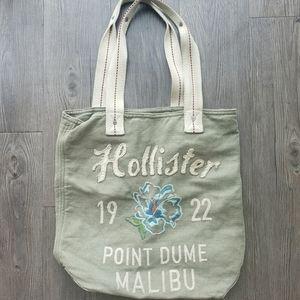 Hollister Cotton beach/shopper bag